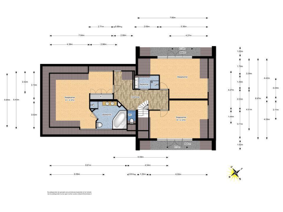 De Stelling 1, Leidschendam floorplan-1