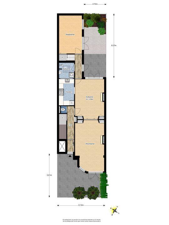 Leeuwendaallaan 73, Rijswijk floorplan-2