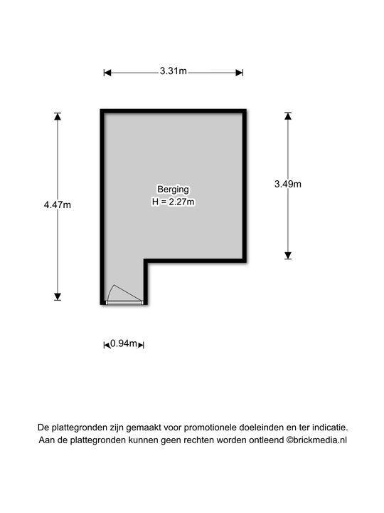 Raadhuisstraat 37, Voorburg floorplan-1