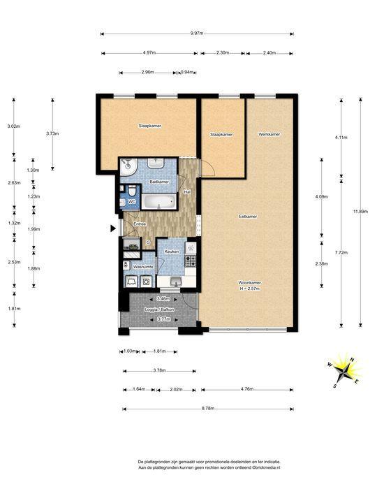 Raadhuisstraat 37, Voorburg floorplan-0