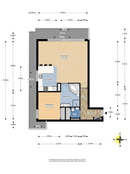 Populierendreef 193, Voorburg floorplan-0