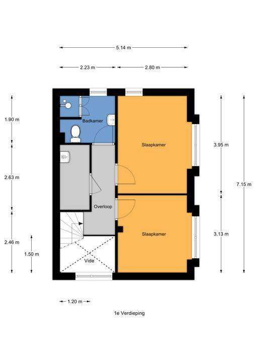An Vellekoophof 7, Voorburg floorplan-1