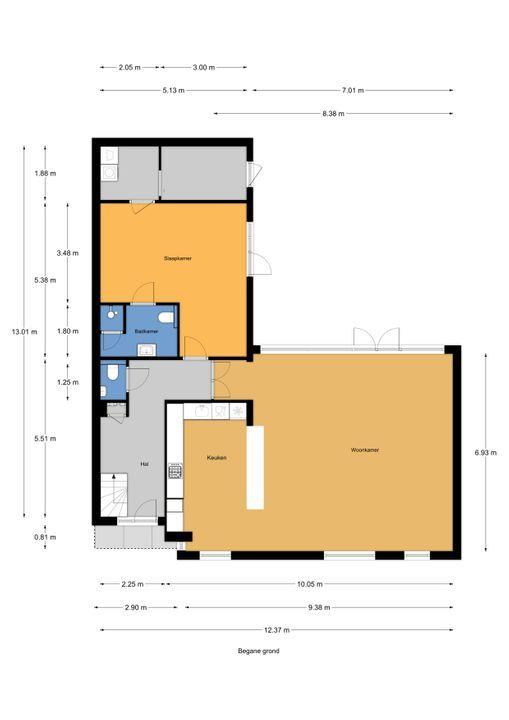 An Vellekoophof 7, Voorburg floorplan-0
