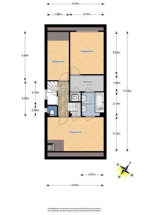 Tuinluststraat 24, Voorburg floorplan-2