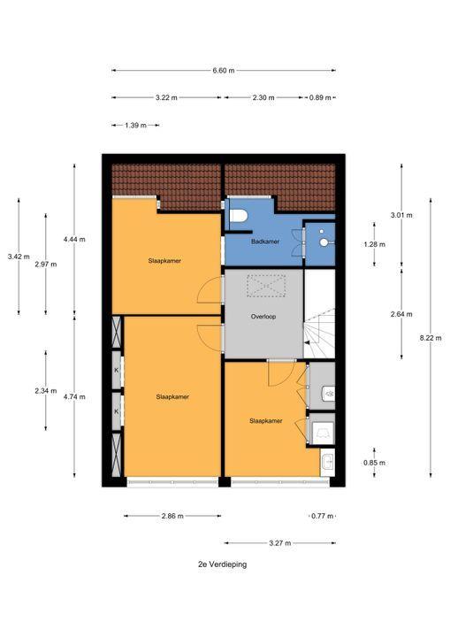 Laan van Leeuwesteyn 2, Voorburg floorplan-2