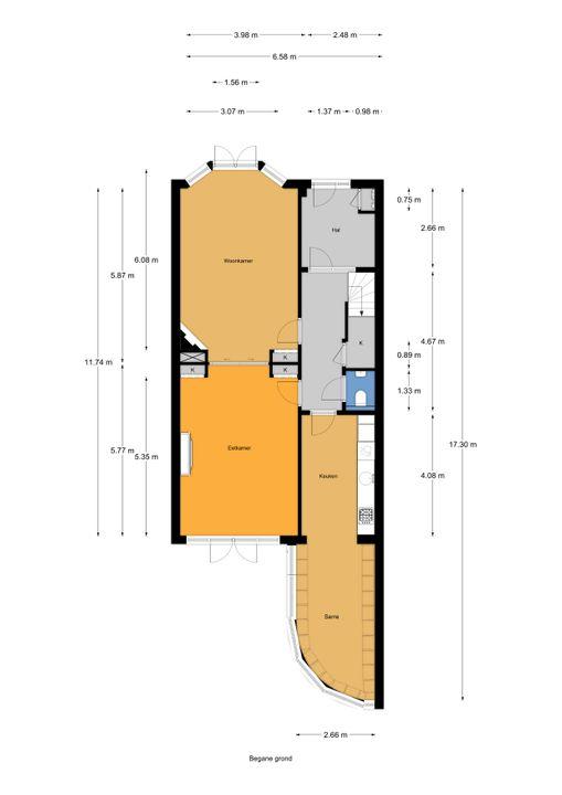 Laan van Leeuwesteyn 2, Voorburg floorplan-0
