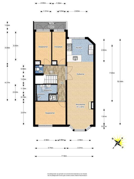 Stuyvesantstraat 104, Den Haag floorplan-1