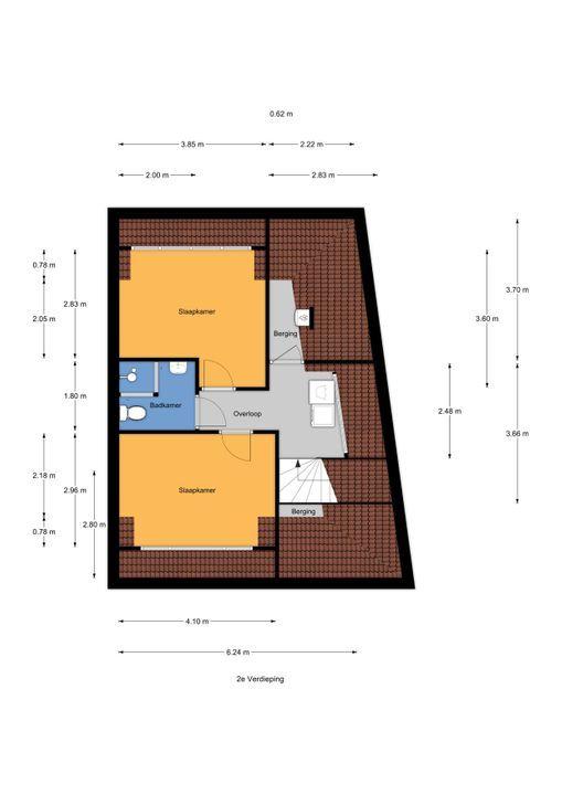 Parkweg 312, Voorburg floorplan-2