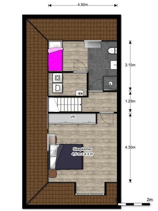 Rietkade 3, Den Haag floorplan-2