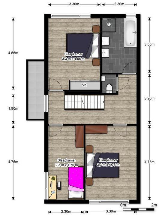 Rietkade 3, Den Haag floorplan-1