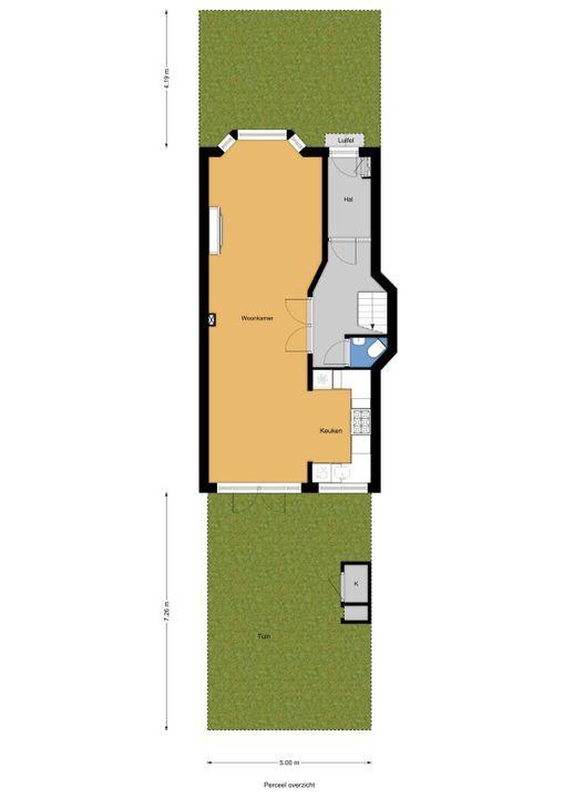 Meloenstraat 129, Den Haag floorplan-3