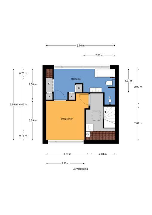 Minister Gerbrandystraat 9, Nootdorp floorplan-2
