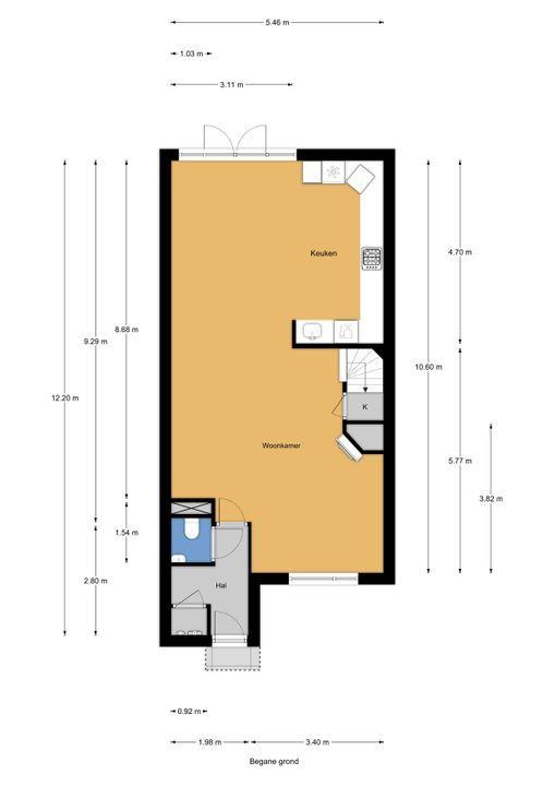 Condorweg 15, Berkel En Rodenrijs floorplan-0