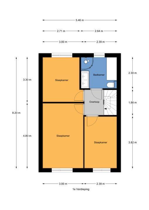 Condorweg 15, Berkel En Rodenrijs floorplan-1