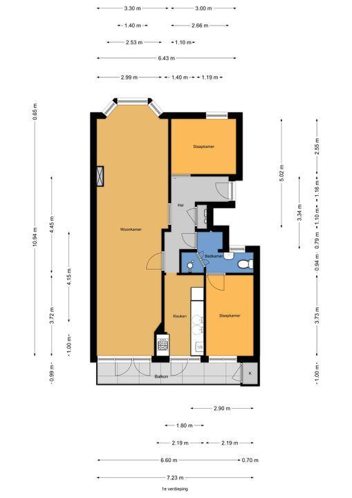 van Arembergelaan 99, Voorburg floorplan-0