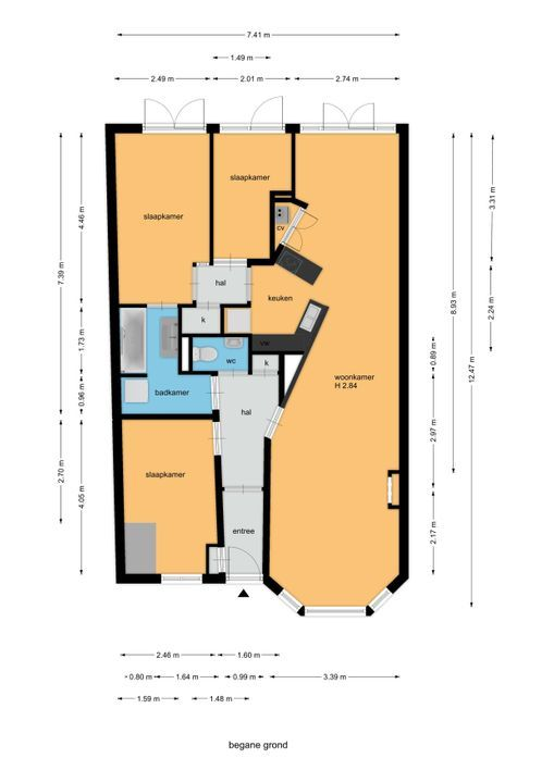 van Halewijnlaan 171, Voorburg floorplan-0