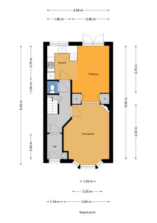 Agrippinastraat 53, Voorburg floorplan-0