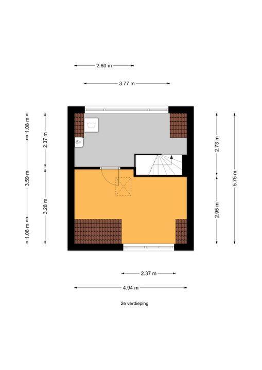Agrippinastraat 53, Voorburg floorplan-2