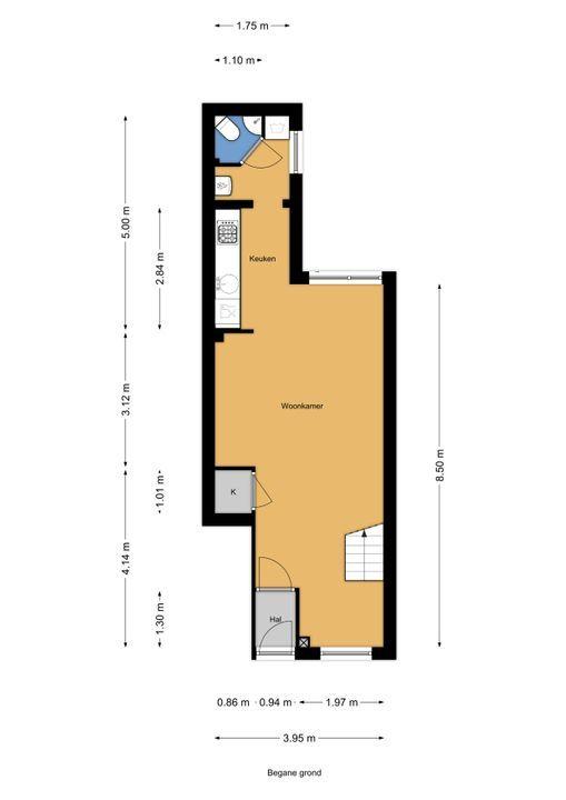 Loolaan 22, Voorburg floorplan-0