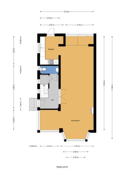 Schellinglaan 3, Voorburg floorplan-0