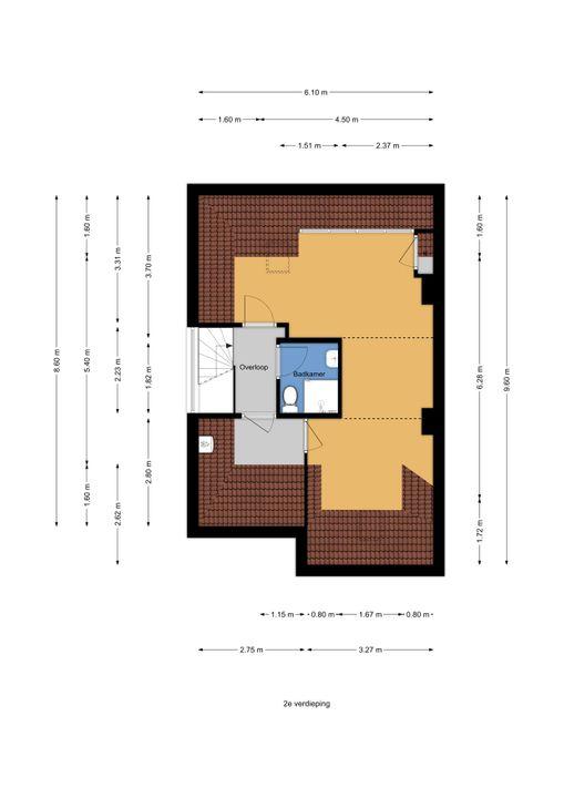 Schellinglaan 3, Voorburg floorplan-2