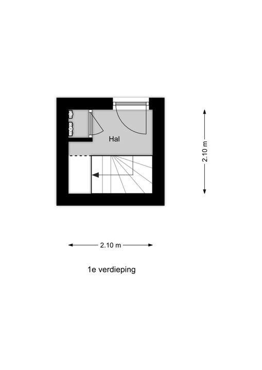 Juliana van Stolberglaan 275, Den Haag floorplan-0