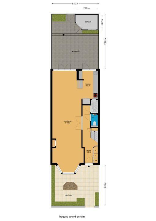 van Woudekade 19, Voorburg floorplan-4