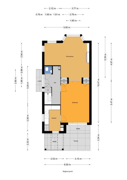 Park Vronesteyn 20, Voorburg floorplan-0