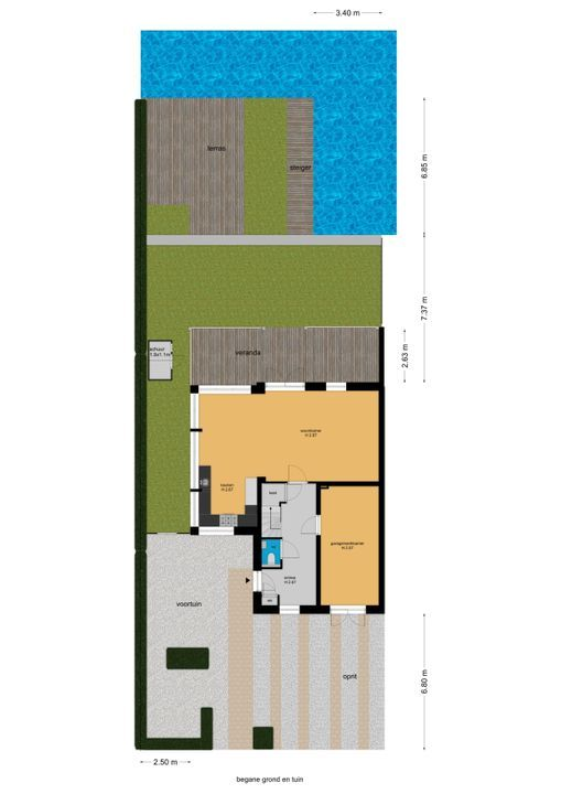 Watermolensingel 14, Leidschendam floorplan-3