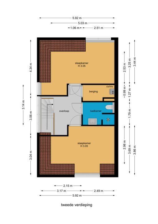 Watermolensingel 14, Leidschendam floorplan-2