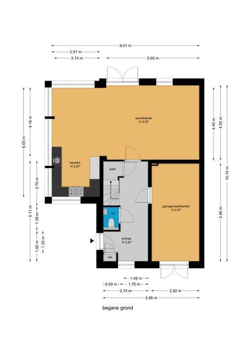 Watermolensingel 14, Leidschendam floorplan-0