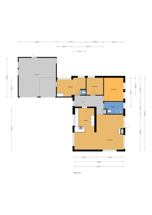 Voorweg 163 A., Zoetermeer floorplan-0