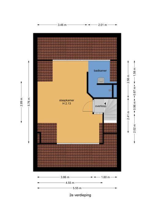 Essesteijnstraat 153, Voorburg floorplan-2