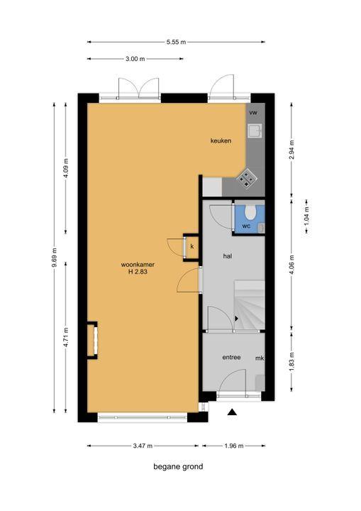 Essesteijnstraat 153, Voorburg floorplan-0