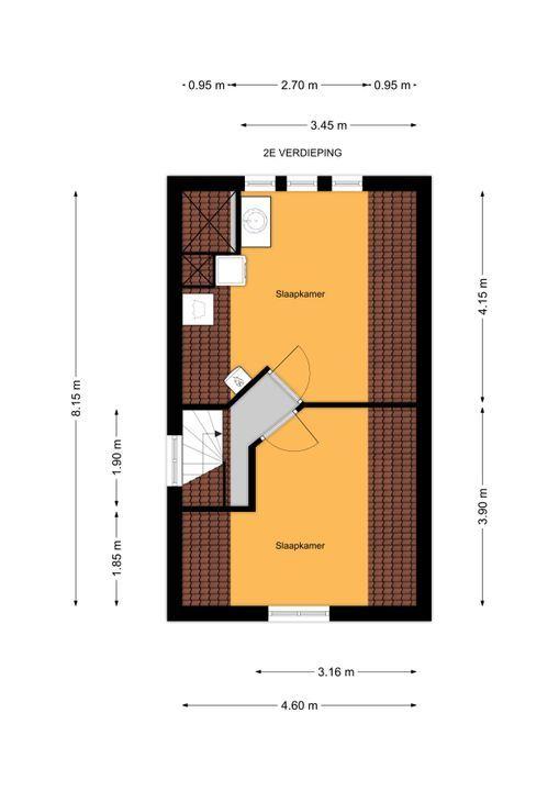 Parkweg 175, Voorburg floorplan-2