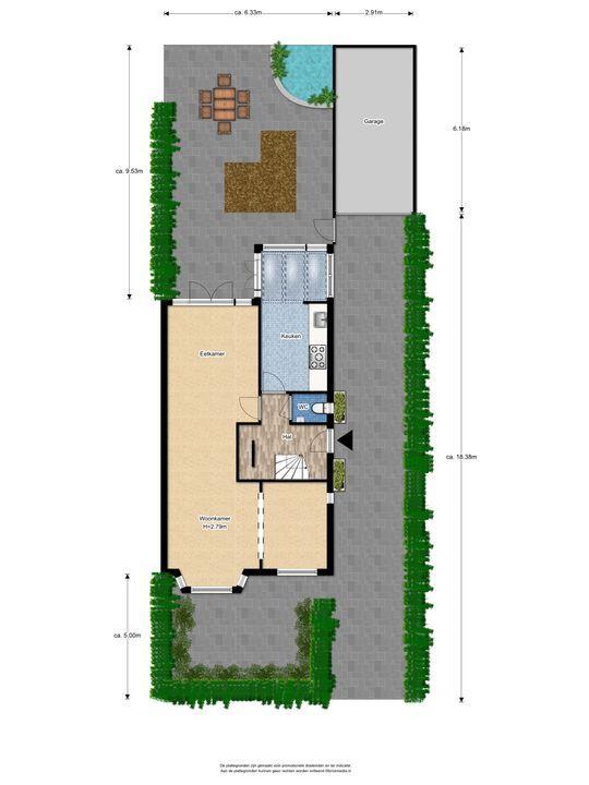 Hoge Weidelaan 25, Voorburg floorplan-3