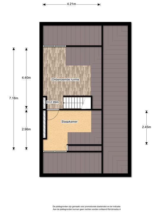 Hoge Weidelaan 25, Voorburg floorplan-2