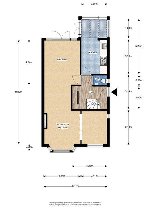 Hoge Weidelaan 25, Voorburg floorplan-0