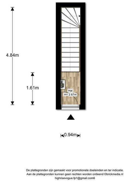 Rembrandtlaan 26 ., Voorburg floorplan-0