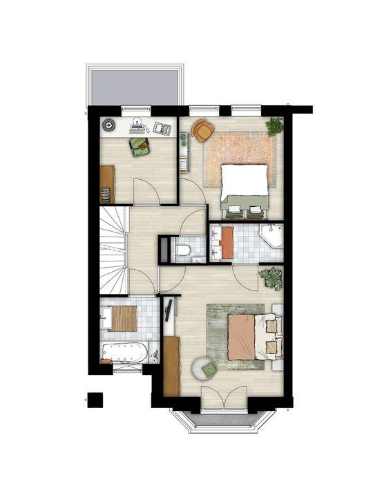 Dokter Van Zeelandstraat 59, Leidschendam floorplan-1