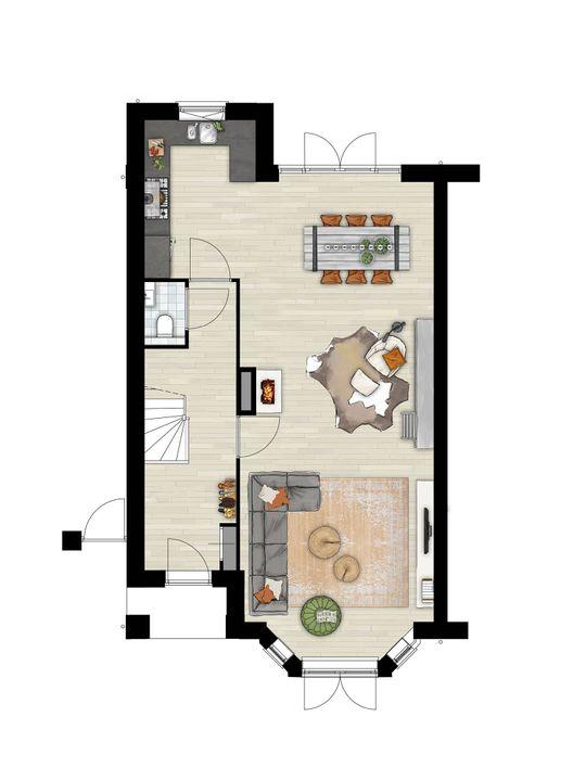 Dokter Van Zeelandstraat 59, Leidschendam floorplan-0
