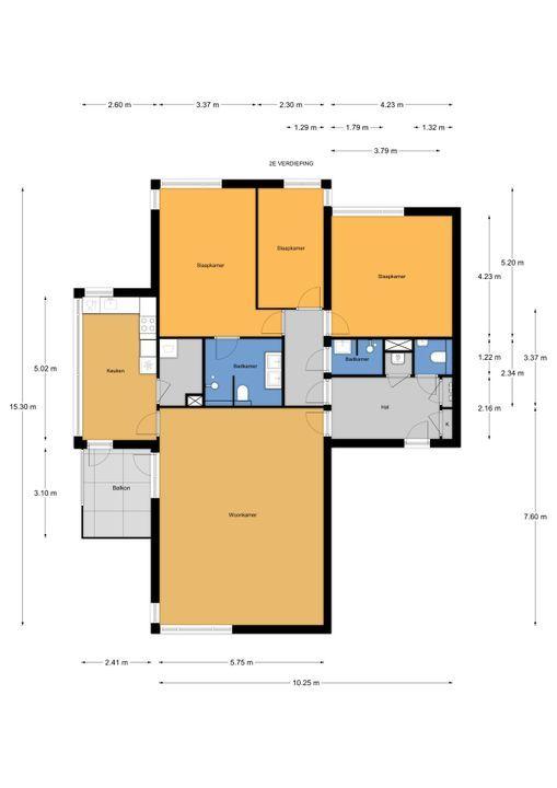 Houtwerf 43, Leidschendam floorplan-0