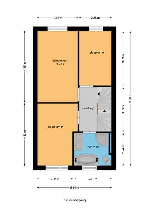Kamilleveld 118, Den Haag floorplan-1
