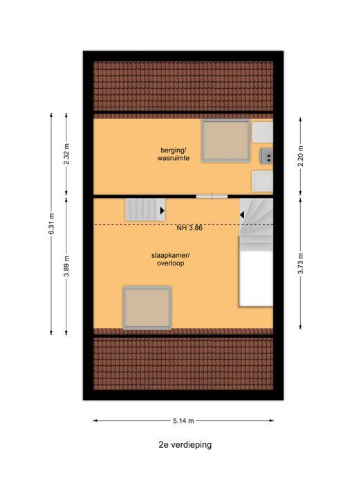 Kamilleveld 118, Den Haag floorplan-2