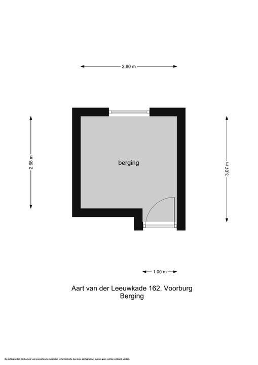 Aart van der Leeuwkade 162, Voorburg floorplan-1