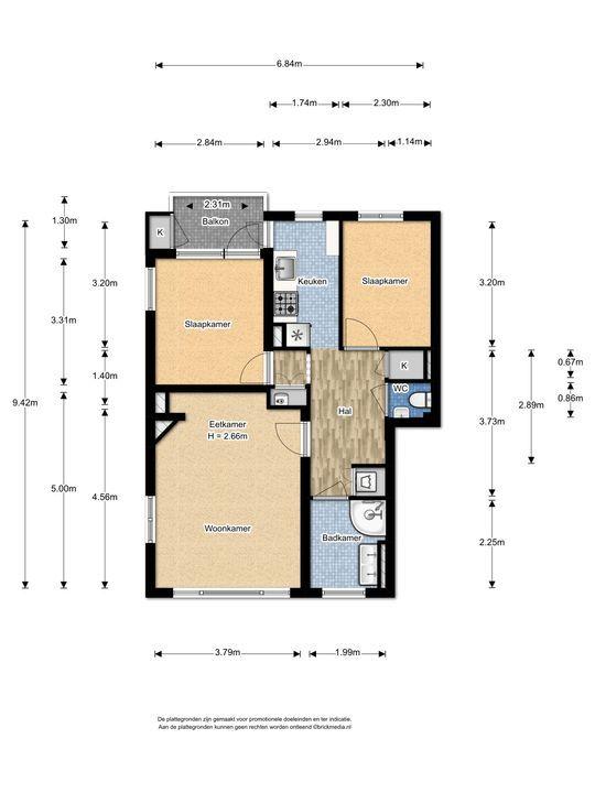 Bruijnings Ingenhoeslaan 29, Voorburg floorplan-0