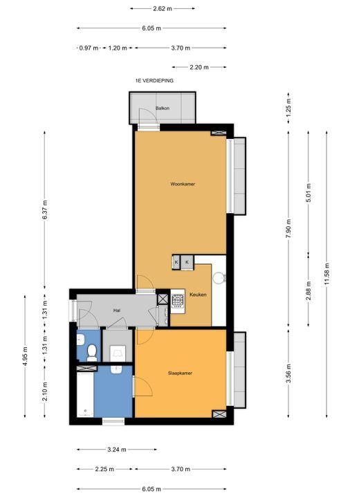 Kornalijnhorst 310, Den Haag floorplan-0