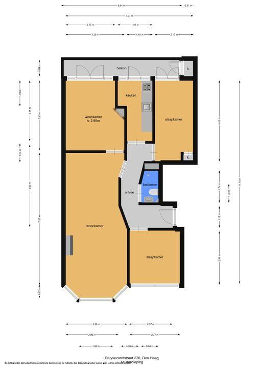 Stuyvesantstraat 276, Den Haag floorplan-0
