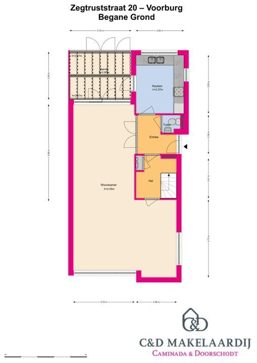 Zegtruststraat 20, Voorburg floorplan-0