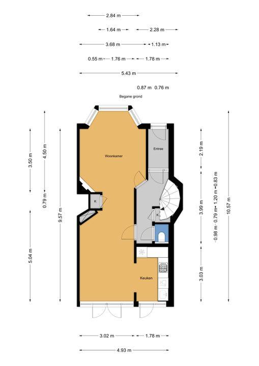 Paradijsstraat 107, Voorburg floorplan-0